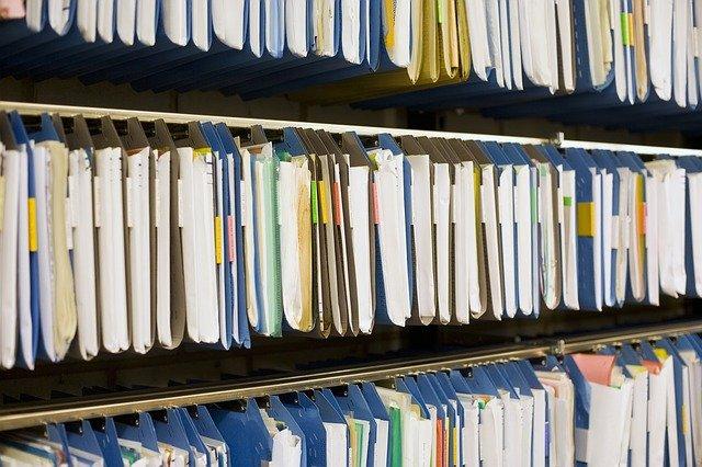 przechowywane dokumenty